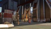 Bakarn begrüßt Jedi