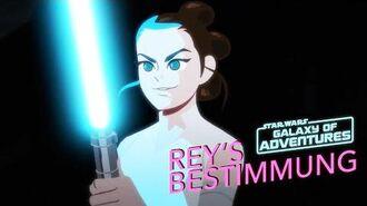 STAR WARS – GALAXY OF ADVENTURES Rey's Bestimmung Star Wars Kids
