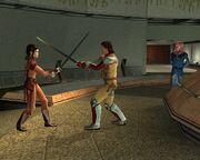 Jedi-Kampftraining