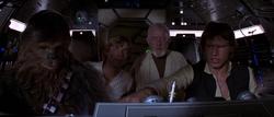 Cockpit des Falken