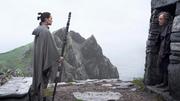 Rey spricht zu Luke