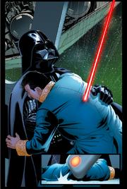 Darth Vader tötet Cylo