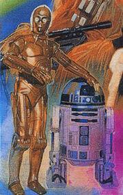 Schatten der Vergangenheit C-3PO R2-D2
