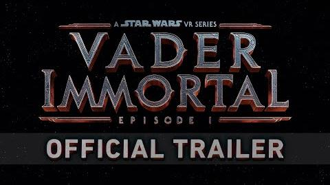 Vader Immortal A Star Wars VR Series - Episode I - Official Teaser