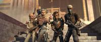 Die Onderon Rebellen befreien Ramsis Dendup und Saw Gerrera