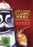 The Clone Wars Staffel 1 DVD Cover