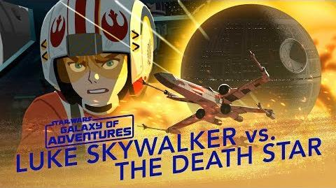 Luke vs. the Death Star – X-wing Assault Star Wars Galaxy of Adventures