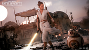 Rey in Battlefront 2
