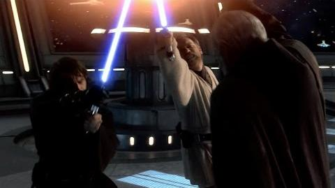 Obi-Wan and Anakin vs Count Dooku - Revenge of the Sith 1080p HD