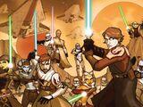 The Clone Wars (Online-Comics)