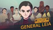 Leia Organa - A Princess, A General, A Mentor Star Wars Galaxy of Adventures