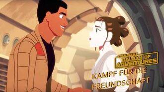 STAR WARS – GALAXY OF ADVENTURES Kampf für die Freundschaft Star Wars Kids