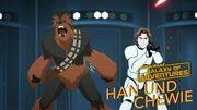 STAR WARS – GALAXY OF ADVENTURES Han und Chewie - Eine Partnerschaft fürs Leben Star Wars Kids