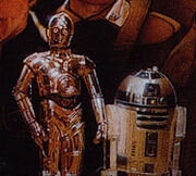 Showdown at Centerpoint C-3PO R2-D2