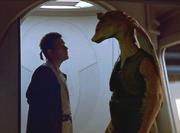 Obi-Wan und Jar Jar