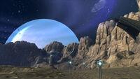 Asteroidenoberfläche der Fabrik