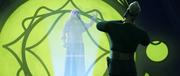 Sidious würgt Dooku über Holo