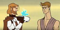Obi-Wan spricht mit Barrek