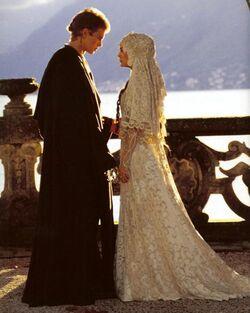 Anakin und Padmé heiraten