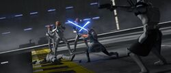 Ahsoka & Rex bekämpfen Klone