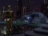 Darth Vaders grüner Eta-2-Actis-Klasse-Abfangjäger