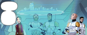 Padme, Obi-Wan, Cody