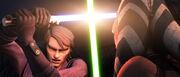 Anakin vs Ahsoka