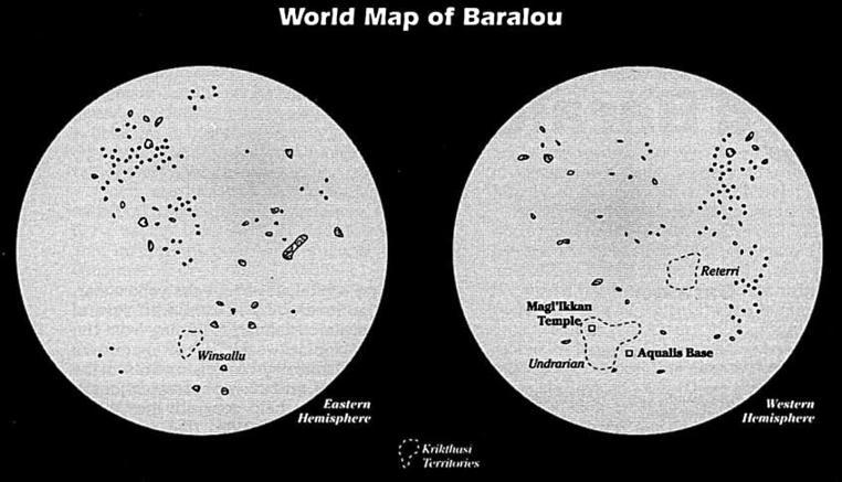 Bild - World Map of Baralou.jpg   Jedipedia   FANDOM powered by Wikia