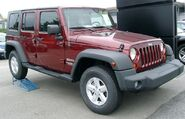 Jeep Wrangler front 20070902