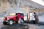 Jeep in Northern Pakistan