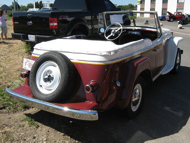 File:1950Jeepster-rear.jpg