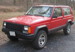 Jeep Cherokee 2-door