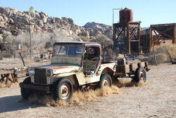 Desert Queen Ranch - Willy's Jeep