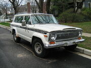 Jeep Cherokee SJ Chief S f