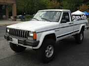 Jeep Comanche Pioneer white MD l