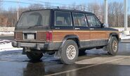 Jeep Wagoneer XJ rear