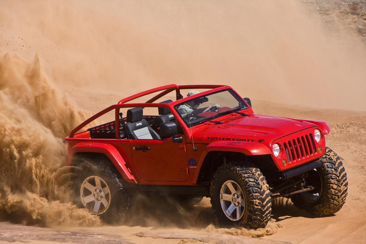 Jeep Wrangler Lower Forty Concept Wiki Fandom Powered By Wikia Fc Truck