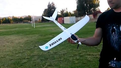 Skyfire Chuck Glider RC Conversion (Electric)