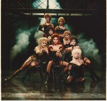 Alley Theatre 1990 - The Girls of The Dregs - Linda Eder (Lucy Harris), Nita Moore (Nellie), Audrey Klinger (Flossie), Marty Simpson