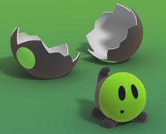 Dodo egg hatched
