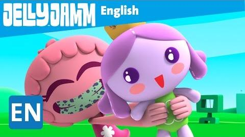 Jelly Jamm English. Princess Smile. Children's animation series. (S02 - E67)
