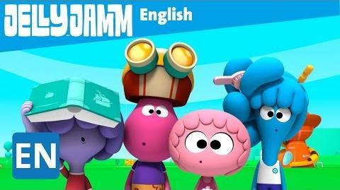 Jelly Jamm English. Assistant Sensei. Children's animation series. S02 - E69