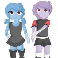 Kokoa And Hazuki Jelly Jamm Wiki Fandom