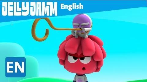 Jelly Jamm English. Sensei Dodo. Children's animation series