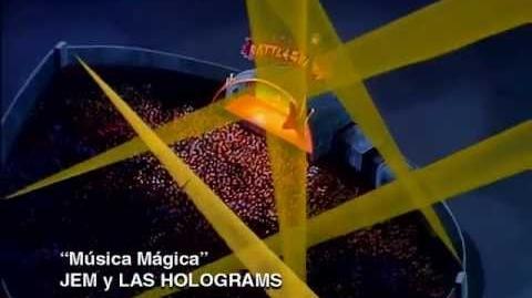 Jem y Las Holograms - Música Mágica - 01