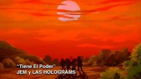 Jem y Las Holograms - Tiene El Poder - 01