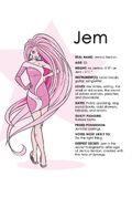 IDW Jem character bio