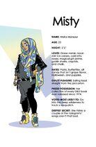 Misty character-bio