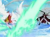 Monkey D. Luffy vs Dracule Mihawk