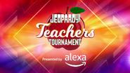 Jeopardy! Season 35 Teachers Tournament Title Card